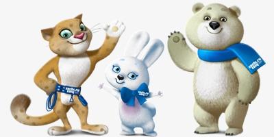 Цветные талисманы зимних Олимпийских игр в Сочи 2014 года